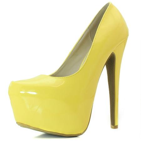 9d84c0dc837 Women's Extreme High Fashion Pointed Toe Hidden Platform Sexy Stiletto High  Heel Pump Shoes