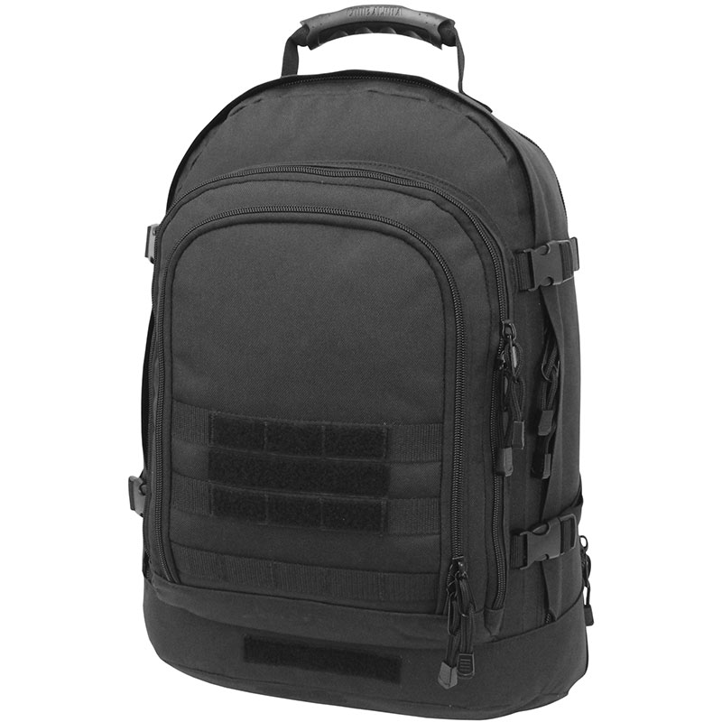 Mercury Tactical Gear 3-Day Stretch Backpack, Black