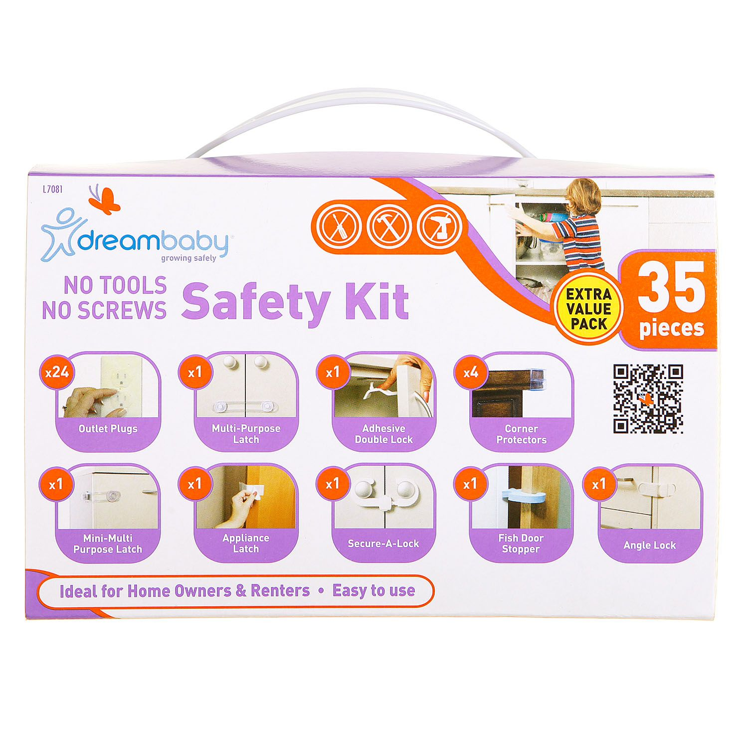 Dreambaby Household Safety Kit by Dreambaby