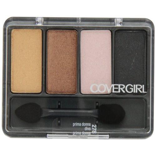 CoverGirl Eye Enhancers 4-Kit Eye Shadow, Prima Donna 278, 0.19 oz