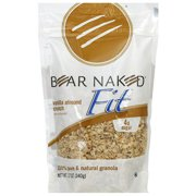 Bear Naked Vanilla Almond Crunch Granola Cereal, 12 oz, (Pack of 6)