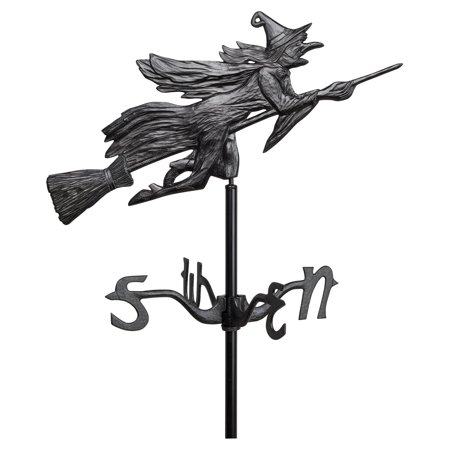 Whitehall Flying Witch Garden - Flying Pig Weathervane