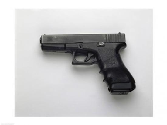Glock 17 9mm Pistol Canvas Art (24 x 18) by Supplier Generic