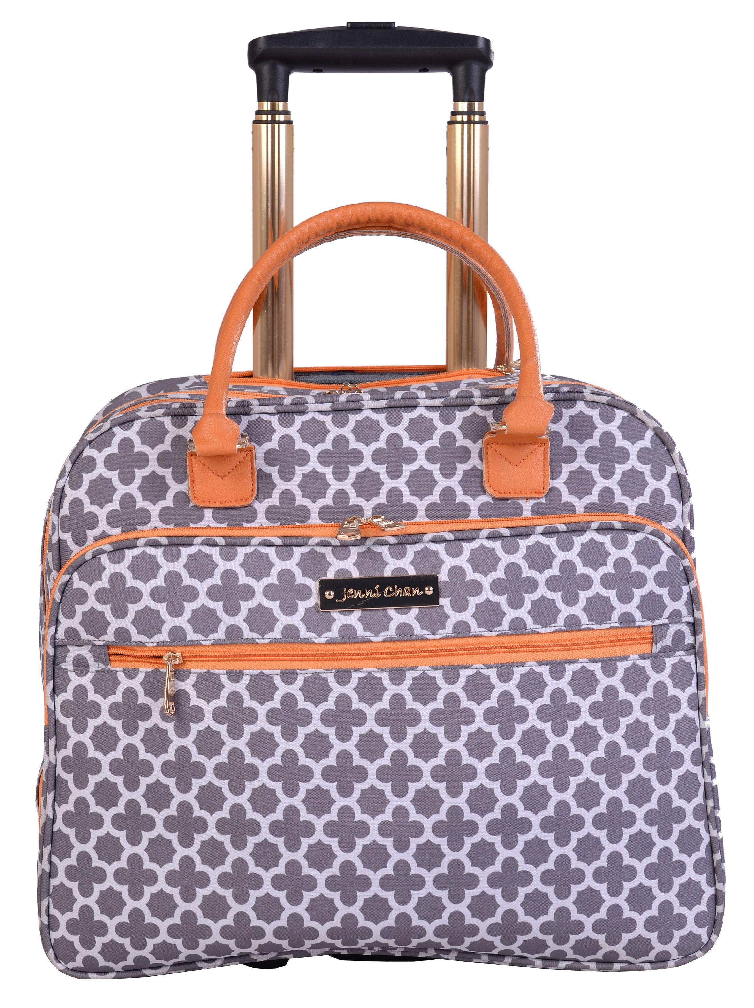 Grey Jenni Chan Medley 2-Piece Set 28 Upright Spinner 311 Bag