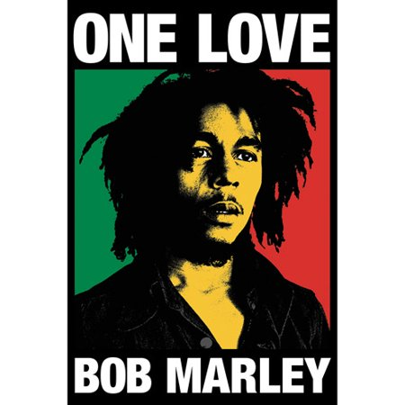 One Love Bob Marley Poster - Walmart.com