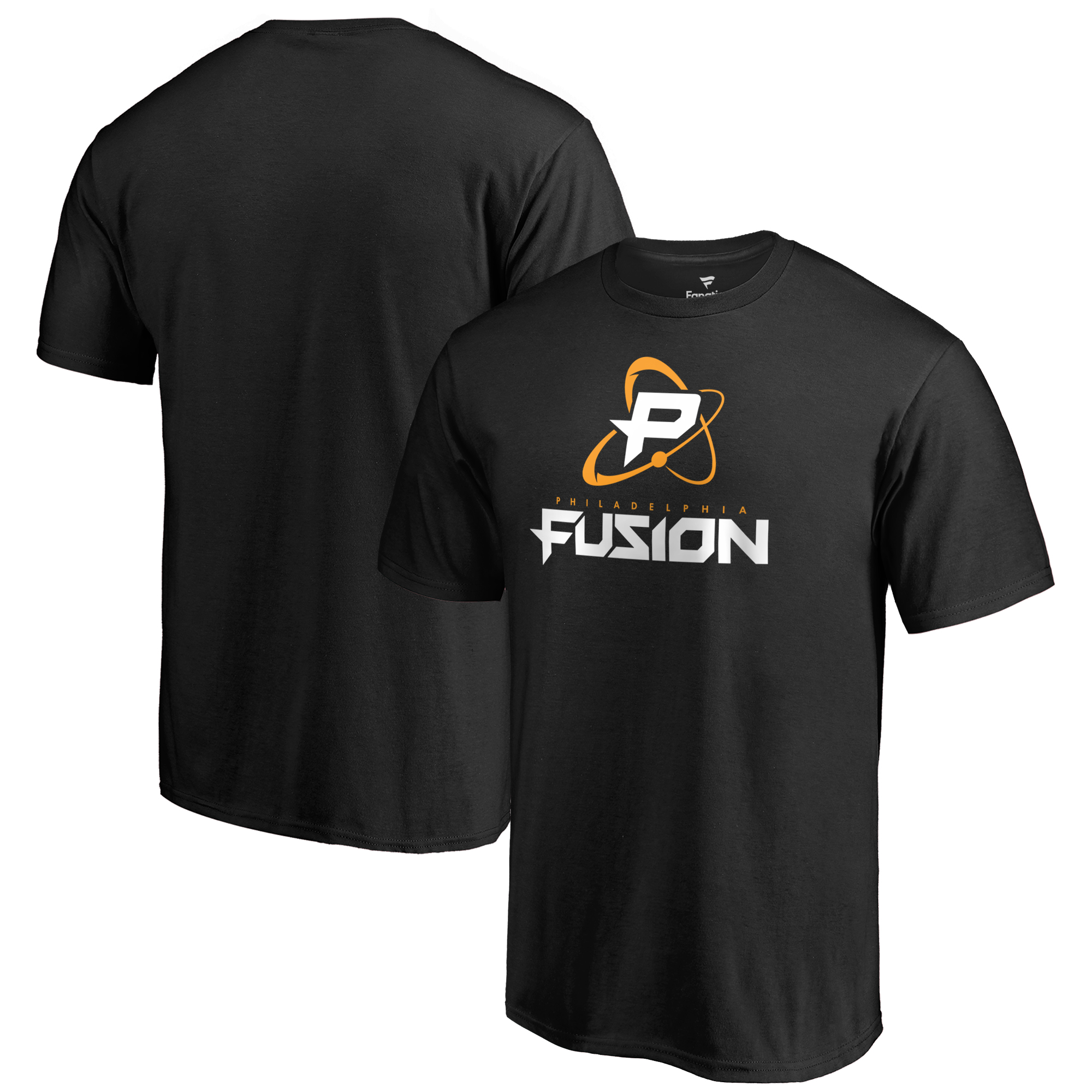 Philadelphia Fusion Fanatics Branded Team Identity T-Shirt - Black