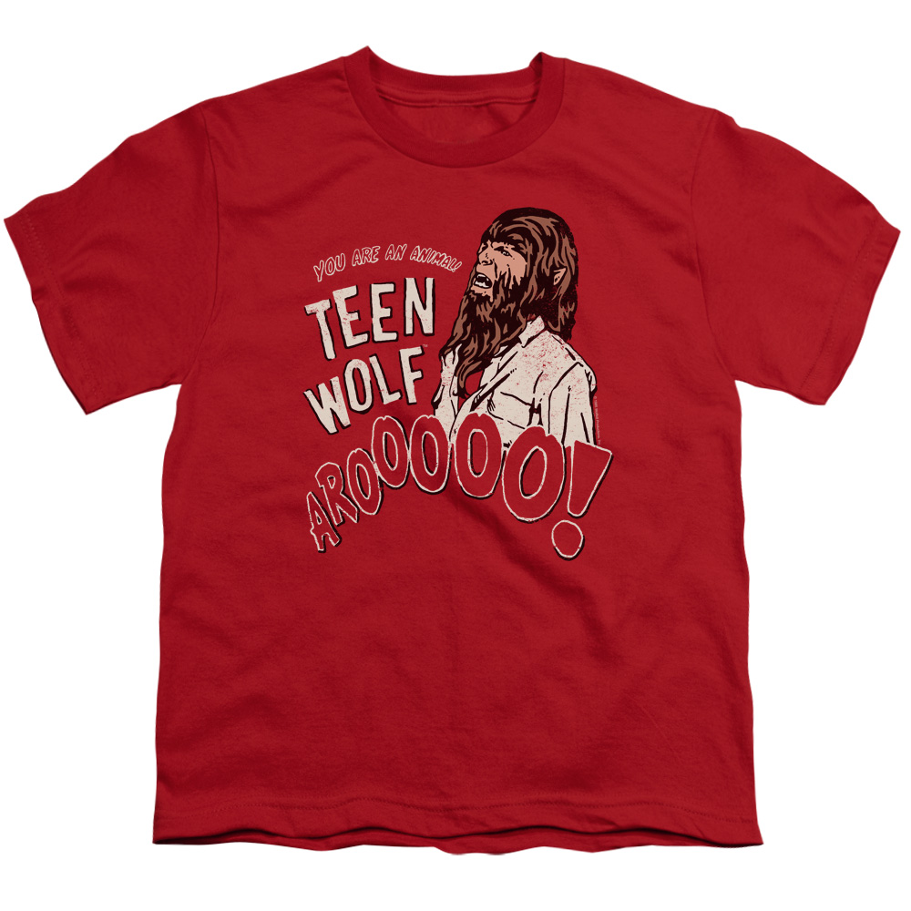 Teen Wolf Animal Big Boys Shirt