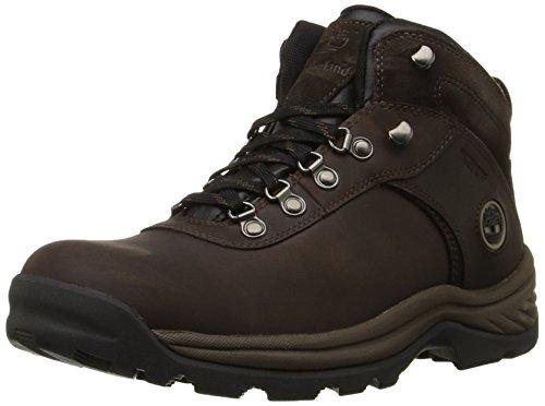 Timberland Men's Flume Waterproof Boot,Dark Brown,9.5 W US by Timberland