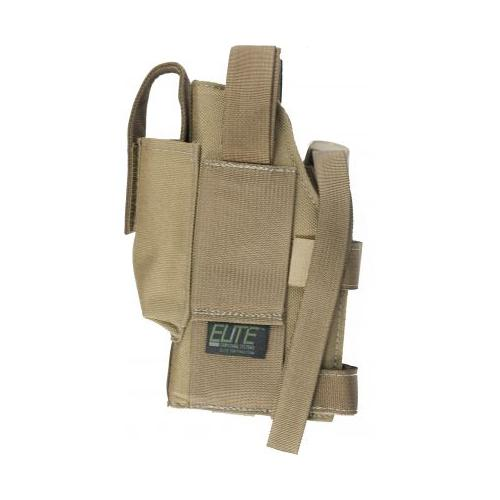 Elite Survival Systems Belt Holster, Right Hand, Coyote Tan - For Glock, Sig Sau