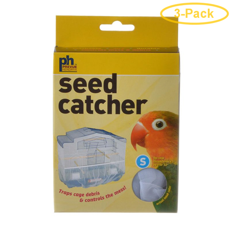 Prevue Seed Catcher Small - (26-52 Circumference) - Pack of 3