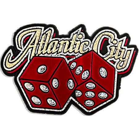 Atlantic City with Dice Fridge - Party City Atlantic