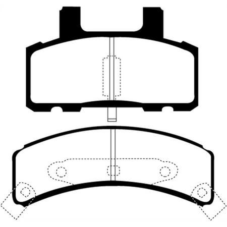 EBC 99-01 Cadillac Escalade 5.7 Greenstuff Front Brake Pads Ebc Disc Brake Pads
