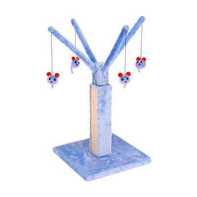 Penn Plax   Cat Play Tree W Scratching Post