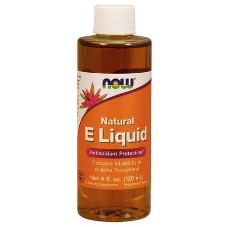 NOW Natural Foods E Liquide Protection Antioxydant, 4 Oz Fl