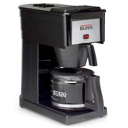 Bunn-O-Matic GRX-B 10-Cup Black Professional Bunn Coffee Brewer - Walmart.com