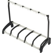 K&M 17515.016.55 Guardian Five Guitar Stand Rack-style (5 Guitars) Translucent