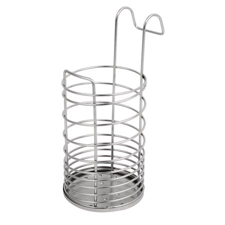 26b3c57f6 Unique Bargains Chopsticks Spoon Fork Drying Rack Drainer Storage Holder  Stand Sink Caddy - Walmart.com