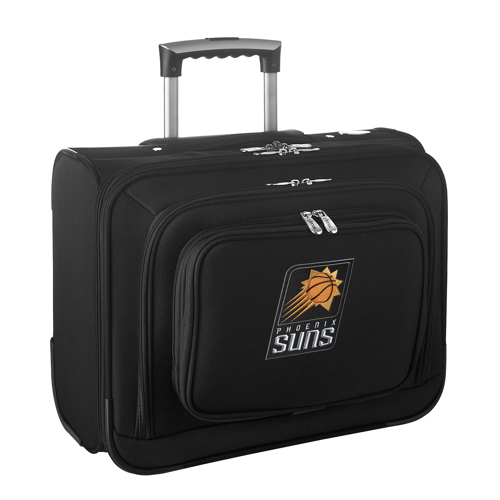 "Phoenix Suns 14"" 2-Wheeled Laptop Overnighter Travel Case - Black - No Size"