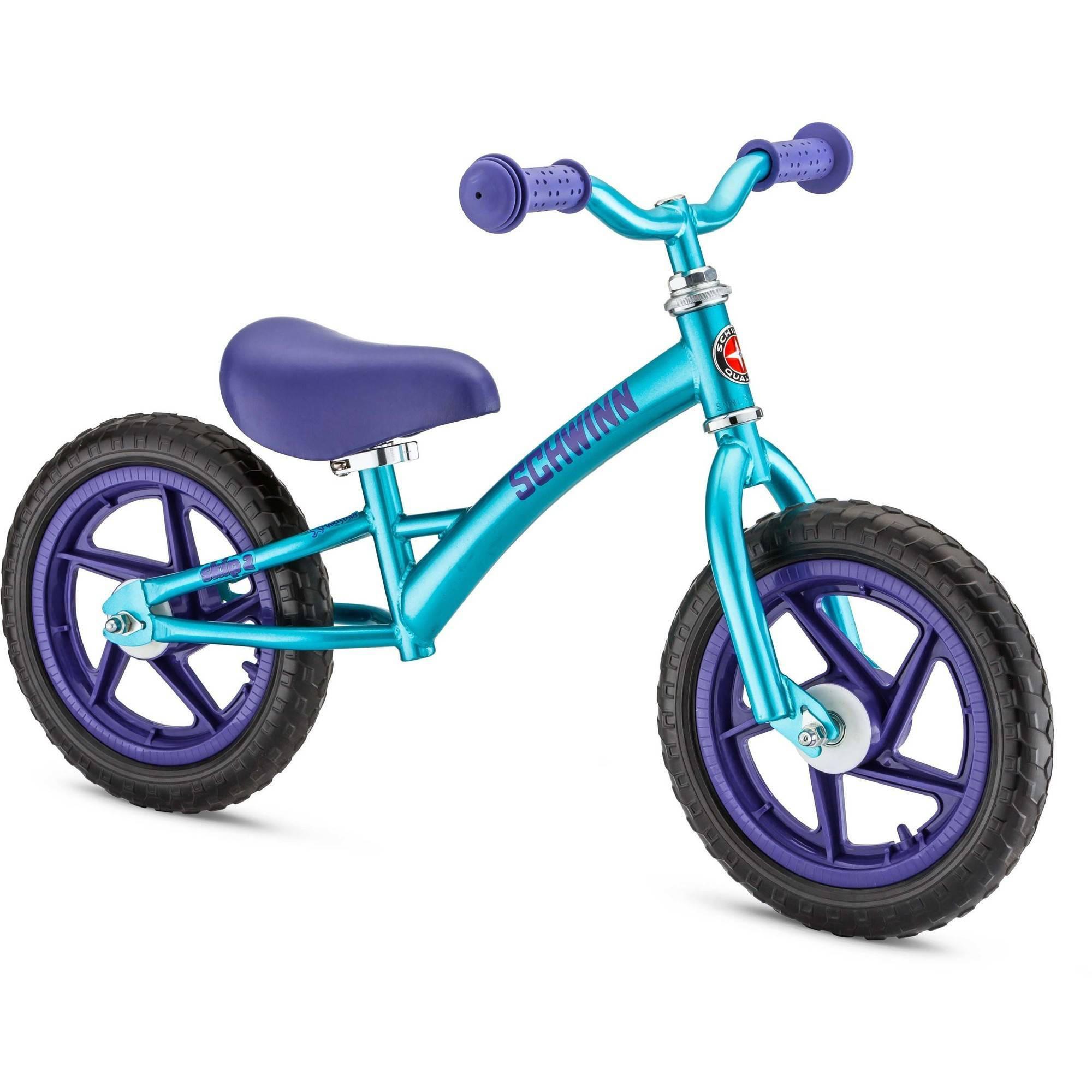 Bicicleta Para Niño(A) Schwinn Skip 2 bici del Balance, Teal + Schwinn en Veo y Compro