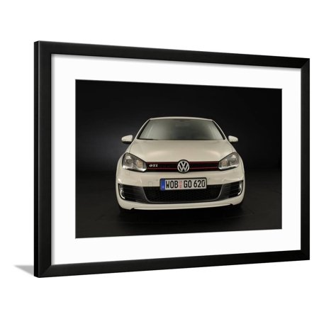 VW Golf GTI mk 6 2008 Framed Print Wall Art By Simon