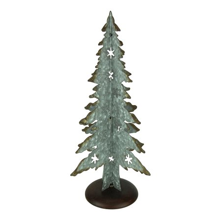 Cutout Christmas Tree 17 Inch Tall
