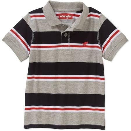 11e7e5a6 Wrangler - Toddler Boys' Short Sleeve Polo Shirt - Walmart.com