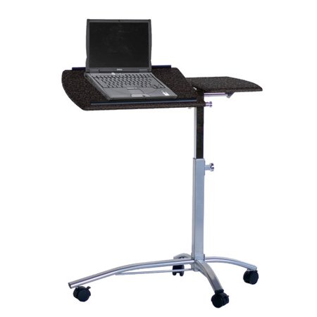 Mayline group adjustable laptop cart - Computer cart walmart ...