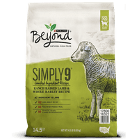 Purina Beyond Simply 9 Ranch-Raised Lamb & Whole Barley Recipe Adult Dry Dog Food - 14.5 lb. Bag