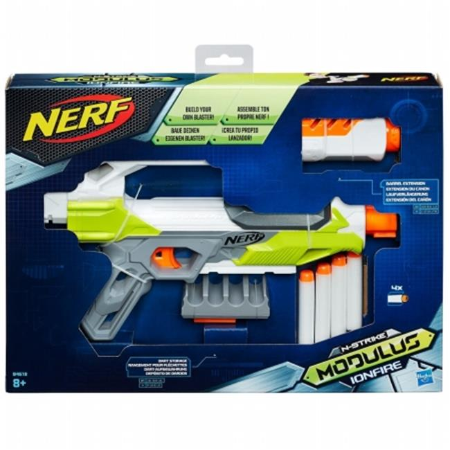 Hasbro HSBB4618 Nerf-Modulus Ionfire, Pack of 4