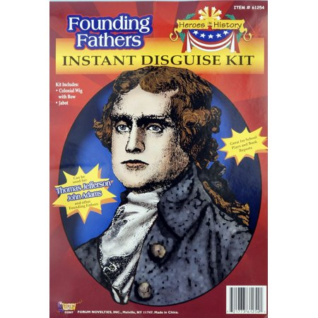 Thomas Jefferson John Adams Costume Kit F61254/218 (Port Jefferson Halloween)