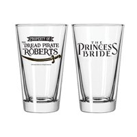 Princess Bride Dread Pirate Roberts Pint Glass