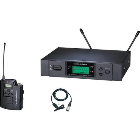 Audio-Technica 3000 Series Wireless Lavalier Microphone System ATW-3131BD