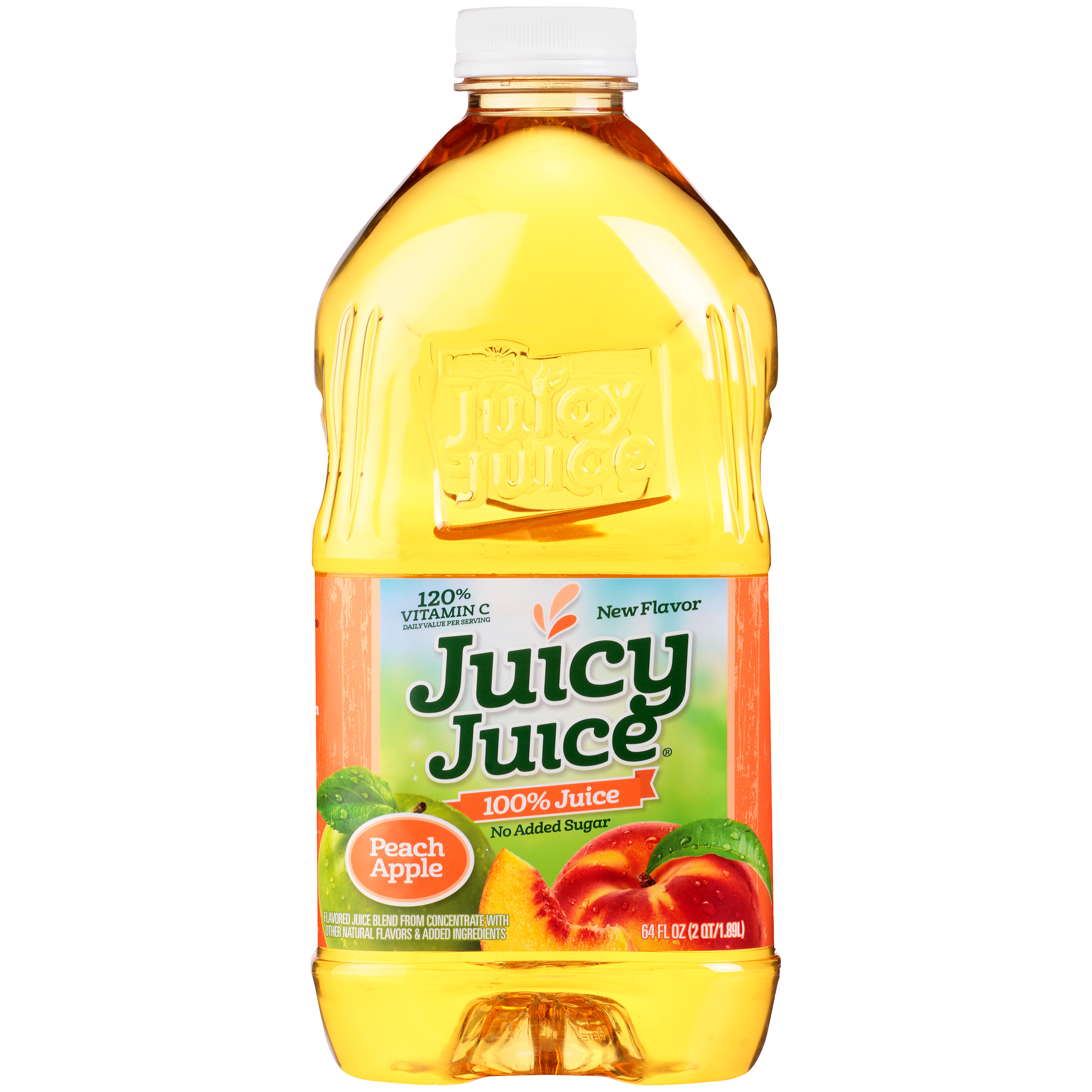 Juicy Juice® Peach Apple 100% Juice 64 Fl Oz