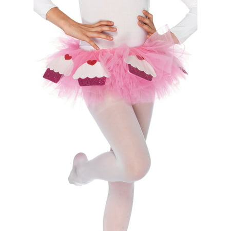 Children's Cupcake Tutu Child Halloween Costume Accessory