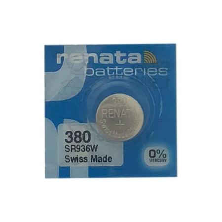 25 x 380 / SR936W Renata Silver Oxide Button Batteries - image 1 de 1
