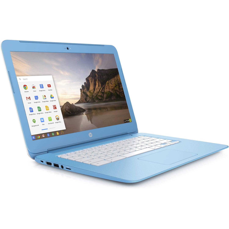 """HP 14-ak030nr 14"""" Chromebook, Chrome, Intel Celeron N2840 Processor, 4GB RAM, 16GB eMMC by HP"""
