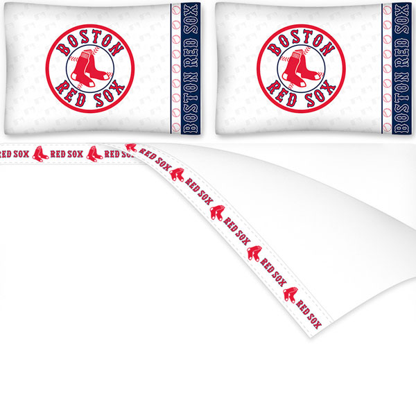 Sports Coverage MLB Micro Fiber Sheet Set