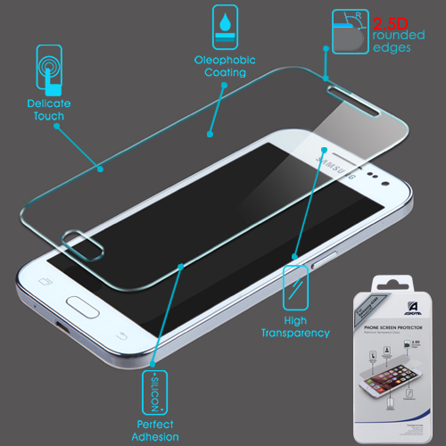 For Samsung Galaxy Core Prime Shatterproof Tempered Glass Screen Protector