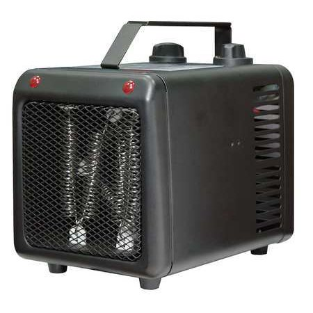 DAYTON Port. Elec. Heater,1500 W,5118 BtuH 3VU37