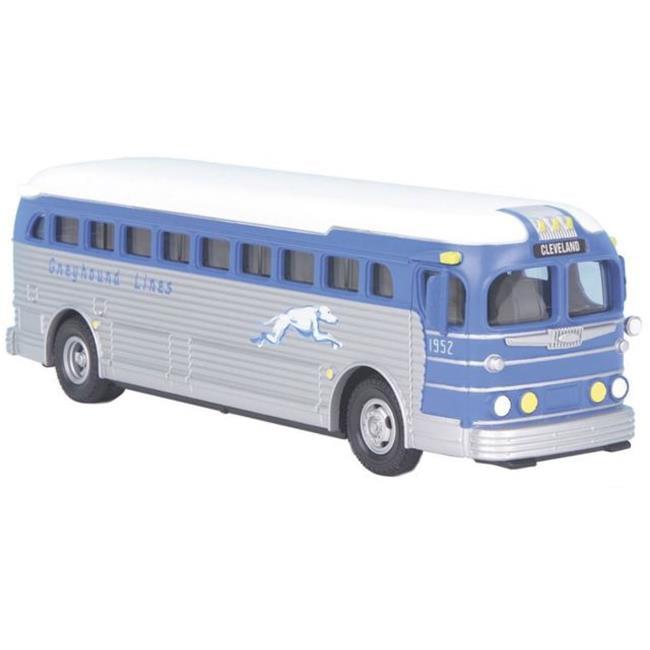 MTH Electrc Trains MTH3050080 Greyhound Die Cast Bus