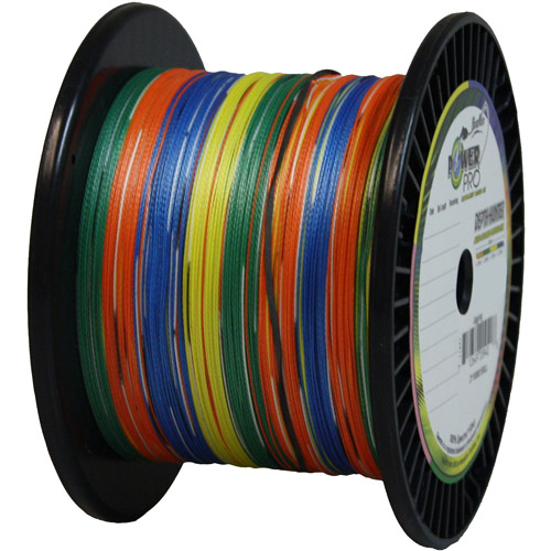 Power Pro Depth Hunter Colored Marked 150lb 4500' 1500yd Braid Line 150-1500DH