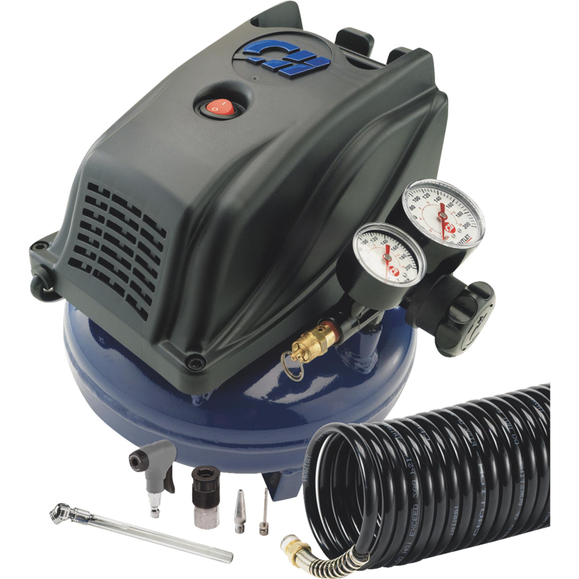 Campbell Hausfeld 1 Gallon Pancake Air Compressor Kit