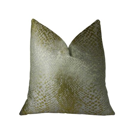 Plutus PBRAZ369-1220-DP Venetian Gold Handmade Luxury Pillow, 12 x 20 in. - image 3 de 3