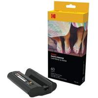 Kodak Dock & Wi-Fi Photo Printer Cartridge Refill & Photo Paper 40-120 ct