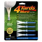 "4 Yards More Golf Tees 3 1/4"" Pack of 4"