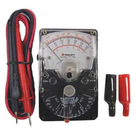 Triplett 3022 600V Volt/Ohm Meter, Polarity Reversing Switch