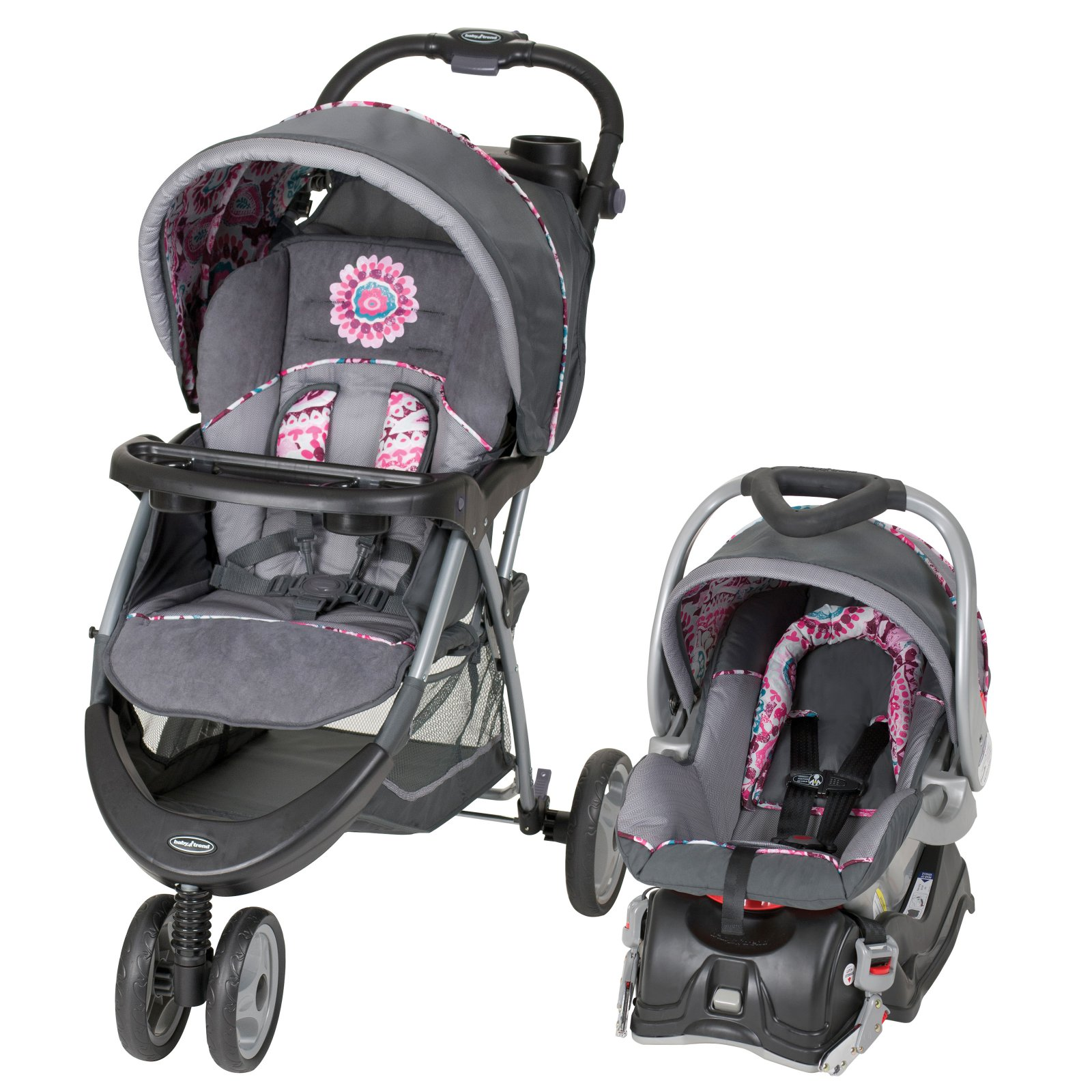Baby Trend EZ Ride 5 Travel System, Paisley by Baby Trend