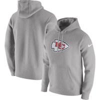 Product Image Kansas City Chiefs Nike Club Fleece Pullover Hoodie -  Heathered Gray 6ec72f339