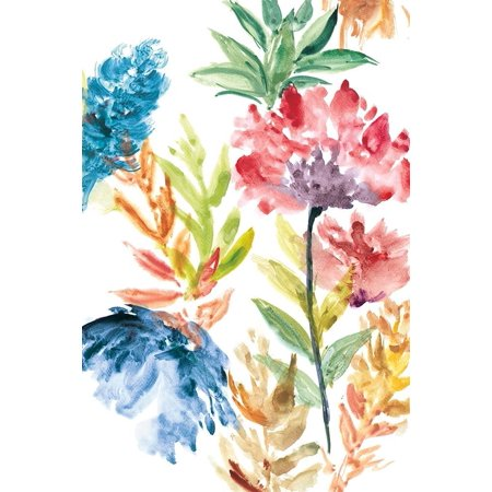 Lush Floral Ii Poster Print by Rebecca Meyers