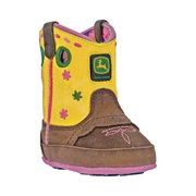 Infant John Deere Boots Crib Flowers 0152